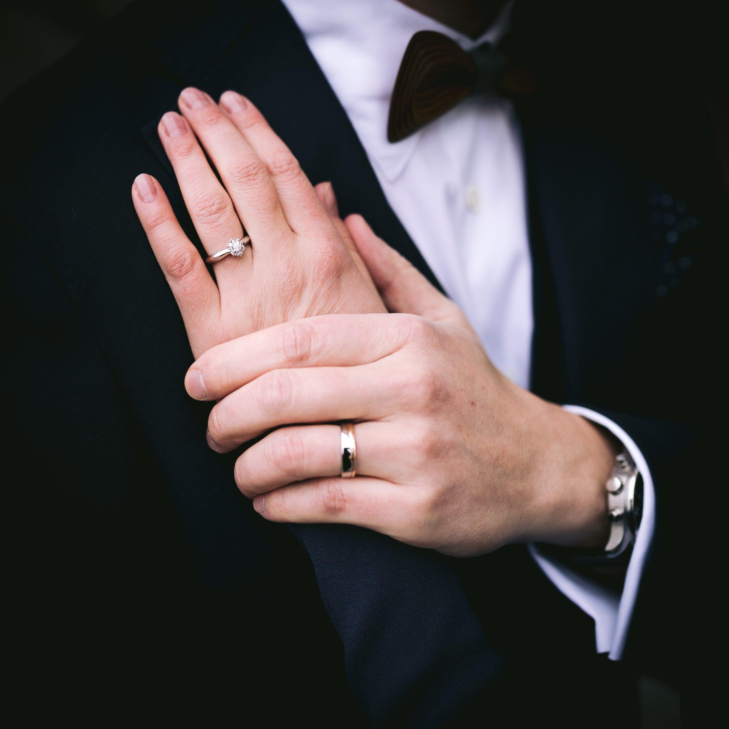 ystävänpäivä, käsi kädessä, pariskunta, parikuvaus